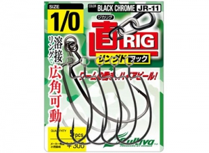 OWNER JIKA-RIG RINGD HOOK JR-11 #1/0