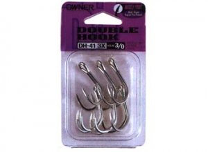 OWNER DOUBLE HOOK DH-41 #2/0