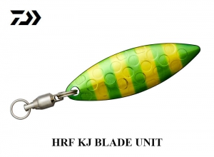 DAIWA HRF KJ BLADE UNIT Green Zebra Gold
