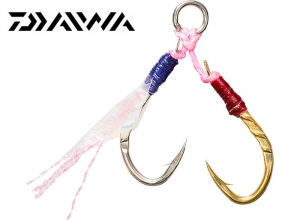 DAIWA SUPER LIGHT JIGGING ASSIST HOOK REAR DOUBLE ASYMMETRY L