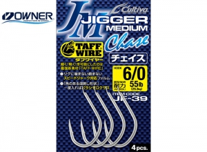 OWNER Cultiva JIGGER MEDIUM CHACE JF-39 #11/0
