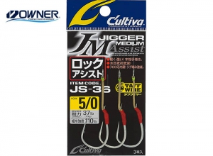 OWNER Caltiva Jigger Medium Rock Assist Hook JS-36 #2/0