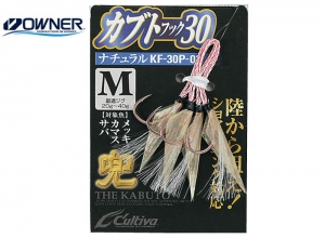 OWNER KABUTO ASSIST HOOK KF-30P-02 NATURAL-3L