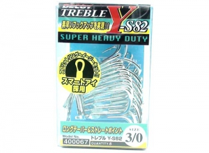 DECOY TREBLE HOOK Y-S82 #2/0
