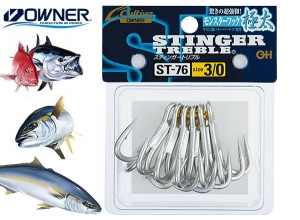 30%OFF OWNER STINGER TREBLE ST-76 #3/0