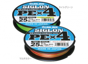 SIGLON PE X4 #0.6(10lb)-150m Light Green