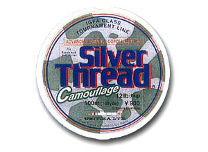 Silver Thread Camouflage 10lb-100m(3 Spools)