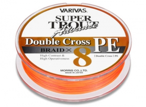 SUPER TROUT ADVANCE Double Cross PE F-Orange #0.6(6lb)-100m/3pcs Set