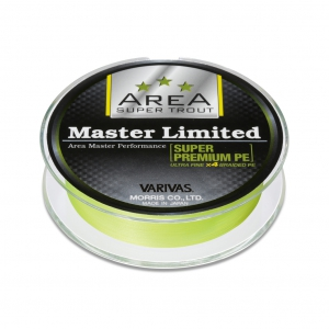 Super Trout Area Master Limited Super PremiumPE Yellow #0.15-75m