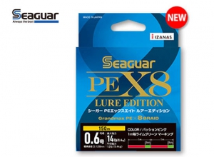 40%OFF Seaguar PE X8 LURE EDITION #0.8-150m