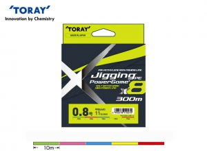 TORAY JIGGING POWER GAME X8 11lb-300m