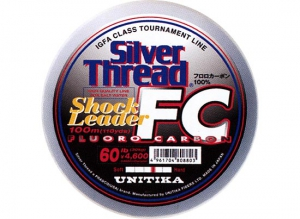 30%OFF/ST Fluorocarbon Shock Leader 20lb-100m