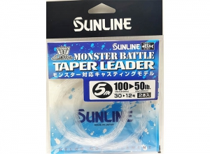 SUNLINE MONSTER BATTLE TAPER LEADER 100LB--50LB