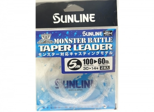 SUNLINE MONSTER BATTLE TAPER LEADER 100LB--60LB