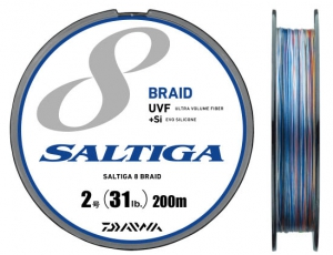 SALTIGA 8BRAID+Si #0.6(10LB)-200m