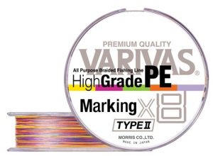 High Grade PE Marking type II x8 #0.6(13lb)-200m