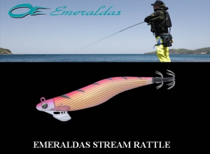 Xmas Special Offe EMERALDAS STREAM RATTLE #3.0 Gold Stripe-Pink