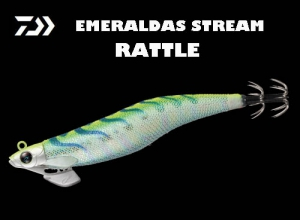 Xmas Special Offe EMERALDAS STREAM RATTLE #3.0 Holo-Yellow