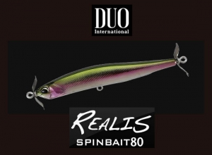 DUO REALIS SPINBAIT 80 DRA4036 Rainbow Trout