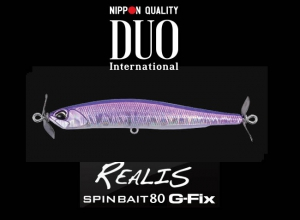 DUO REALIS SPINBAIT80 G-Fix CPA3242