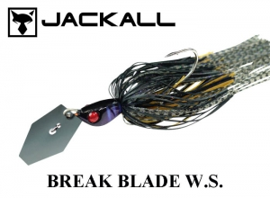 JACKALL Break Blade W.S. 3/8oz Black-Gill