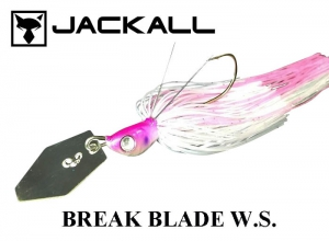 JACKALL Break Blade W.S. 3/8oz Clear-Pink