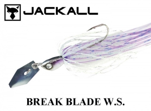JACKALL Break Blade W.S. 3/8oz Clear- PondSmelt