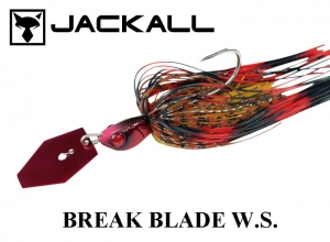JACKALL Break Blade W.S. 3/8oz Fire-Crayfish