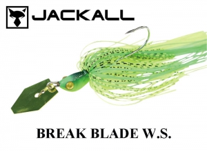 JACKALL Break Blade W.S. 3/8oz Lime
