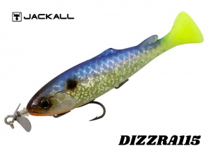 JACKALL DIZZRA 115 Natural Chart Tail