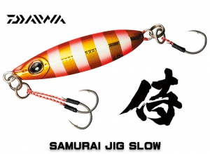 DAIWA SAMURAI JIG SLOW 20g - Red Gold Zebra