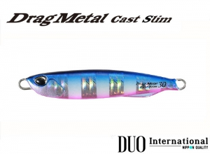 DUO Drag Metal Cast Slim 20g PHA0040 Blue Pink Zebra Glow
