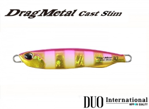 DUO Drag Metal Cast Slim 20g PJA0045 Pink Gold Zebra Glow