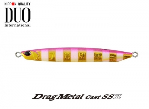 DUO Drag Metal Cast SSZ 20g PJA0045 Pink Gold Zebra Glow