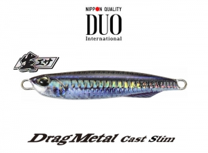 DUO Drag Metal Cast Slim 20g Real Silver Nago