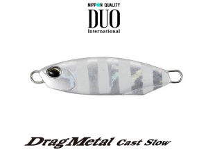 DUO Drag Metal Cast Slow 30g PDA0101 Zebra Glow