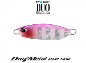 DUO Drag Metal Cast Slow 20g PJA0171 Pink Zebra Glow