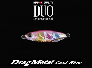 DUO Drag Metal Cast Slow 15g PJA0270 Pink Candy