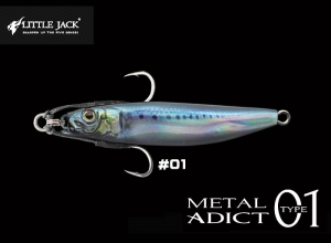 LITTLE JACK METAL ADICT Type01 12g #01