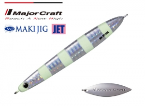 Major Craft MAKI JIG JET 30g #07 (Glow)