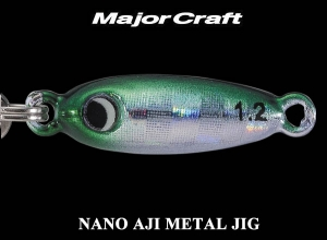 MAJOR CRAFT NANO AJI METAL JIG 0.6g #2 Mackerel [KEIMURA]