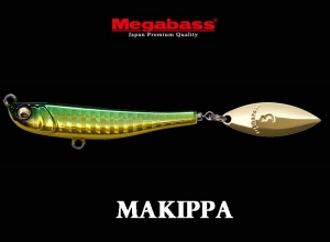MEGABASS MAKIPPA 30g GREEN-GOLD