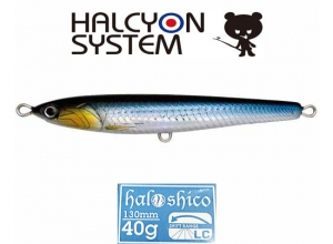 Halshico Tuna Special 130mm 40g-LC  02 H-BKIWS