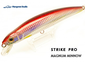 STRIKE PRO MAGNUM MINNOW 160mm-52g Red Barracuda