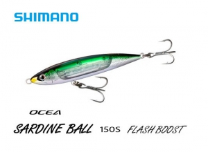 SHIMANO OCEA SARDINE BALL 150S FLASH BOOST 003