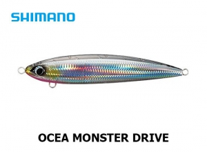SHIMANO OCEA MONSTER DRIVE 220F 04T Silhouette Clear Silver
