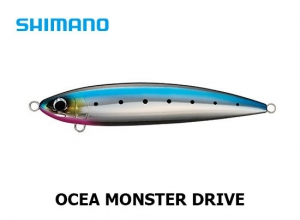 SHIMANO OCEA MONSTER DRIVE 220F 01T Silhouette Sardines