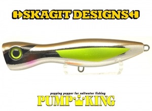 SKAGIT DESIGNS PUMPKING 110mm-30g Amberjack