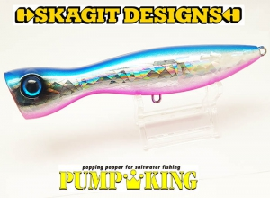 SKAGIT DESIGNS PUMPKING 110mm-30g Blue Pink
