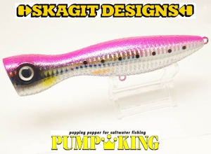 SKAGIT DESIGNS PUMPKING 140mm-43g Pink Sardines